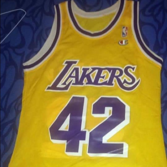 wholesale dealer 84927 080ed Vintage James Worthy Lakers Replica Jersey